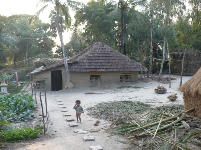 village huts Bakkhali