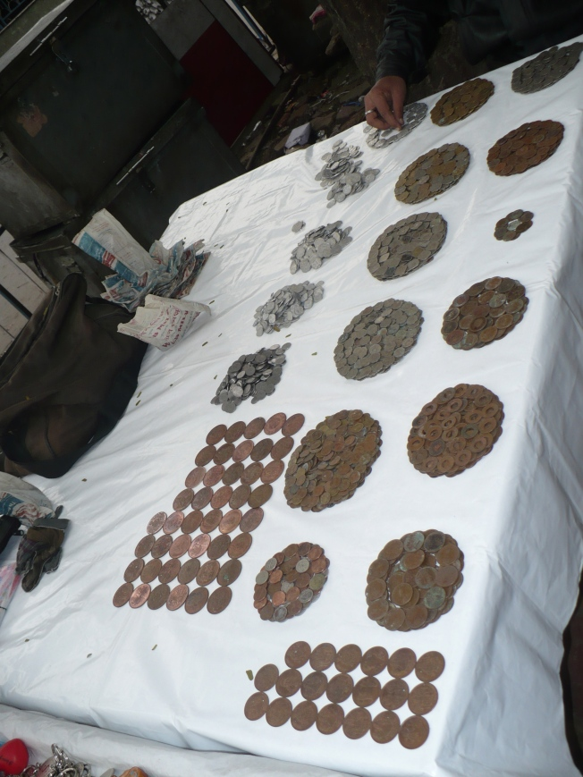 Footpath,old coins on sale