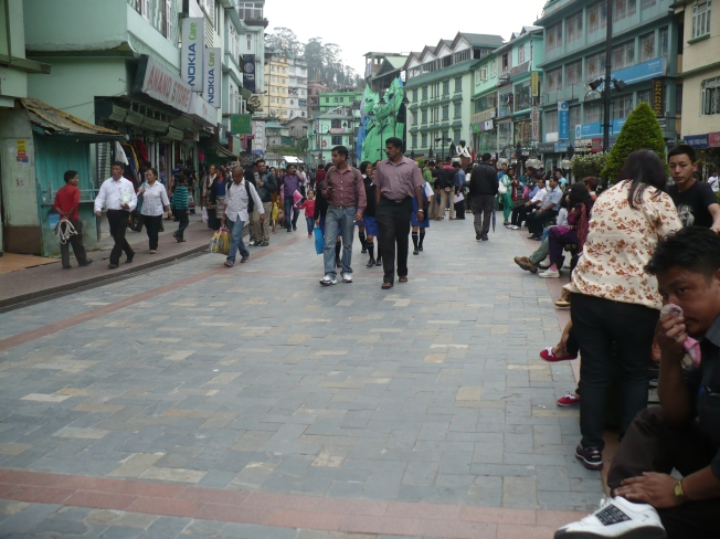 MG Road Gangtok