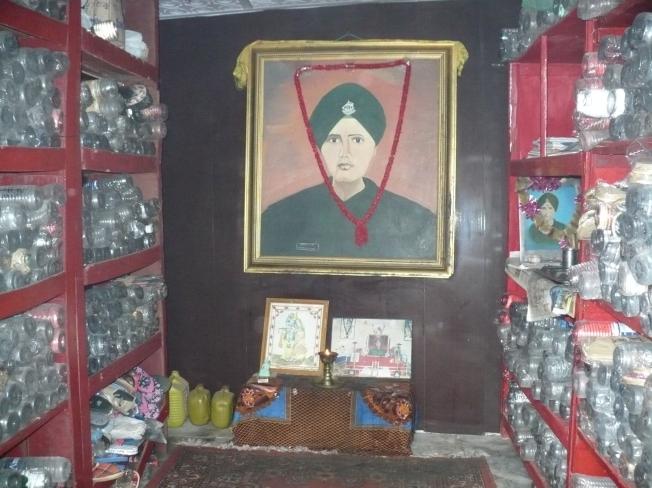 Baba Harbhajan temple Kupup 13500'