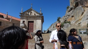 Guided village tour with Paulo the brain behind Casas Do Coro