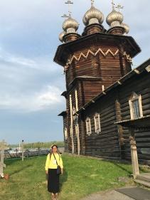 22 domed Church of Transfiguration, Kizhy island