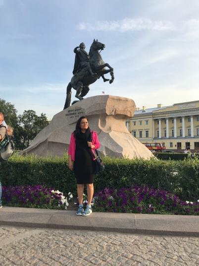 The Bronze Horseman. St Petersburg