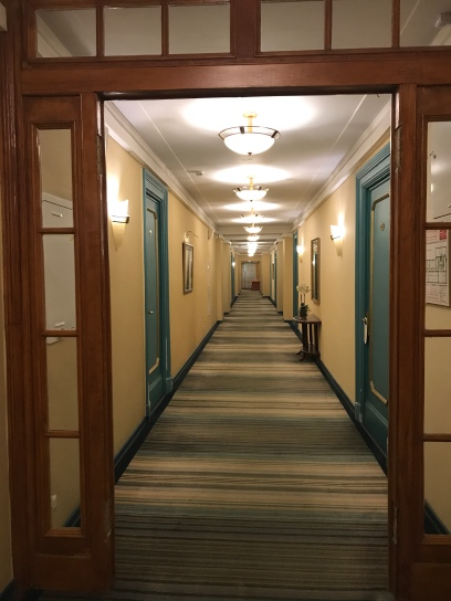 Corridors. Hotel Budapest, Moscow. lenin once stayed here too